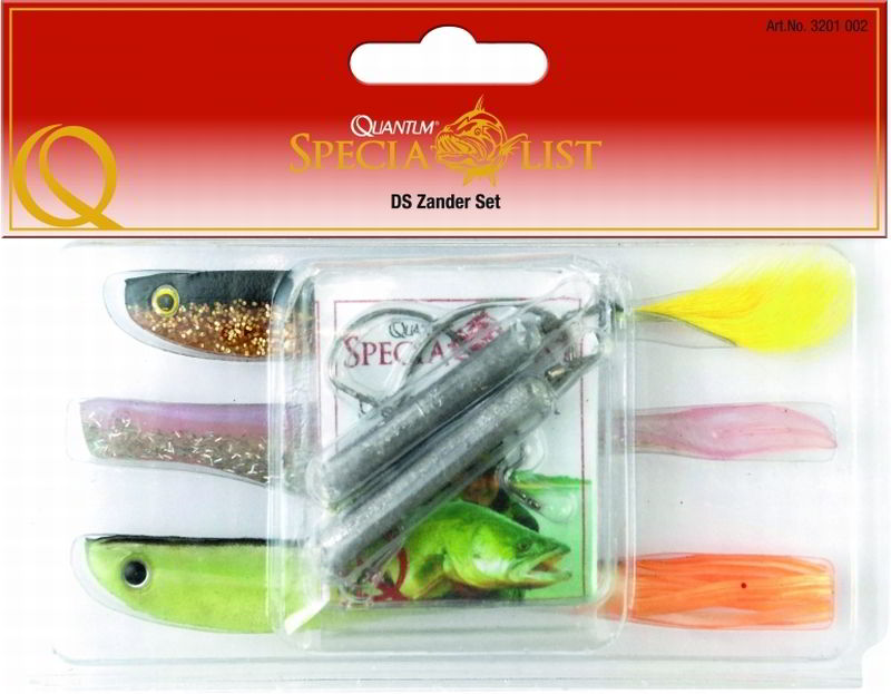 twister quantum drop shot zander set